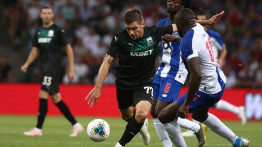 Прогноз на матч квалификации Лиги Чемпионов Порту-Краснодар 13 августа 2019