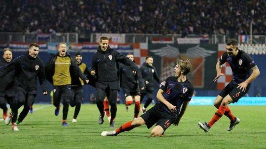 Прогноз матча отбора ЕВРО-2020 Хорватия-Словакия 6 сентября 2019